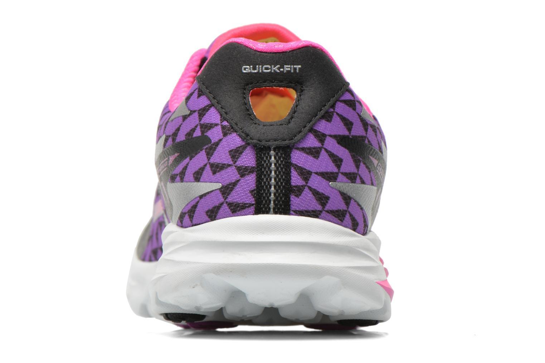 Chaussures de sport Skechers Go Run Ride 5 13997 Multicolore vue droite