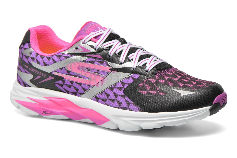 Sportssko Skechers Go Run Ride 5 13997 Multi detaljeret billede af skoene
