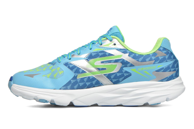 Sport shoes Skechers Go Run Ride 5 13997 Blue front view