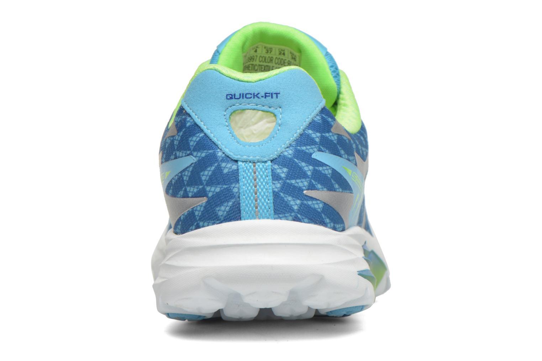 Chaussures de sport Skechers Go Run Ride 5 13997 Bleu vue droite