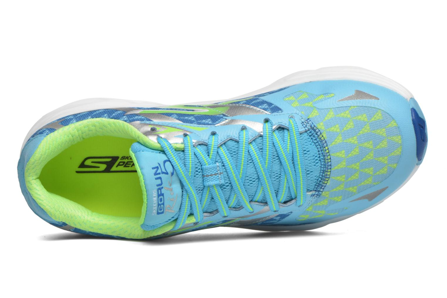 Sport shoes Skechers Go Run Ride 5 13997 Blue view from the left