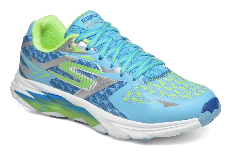 Zapatillas de deporte Skechers Go Run Ride 5 13997 Azul vista de detalle / par