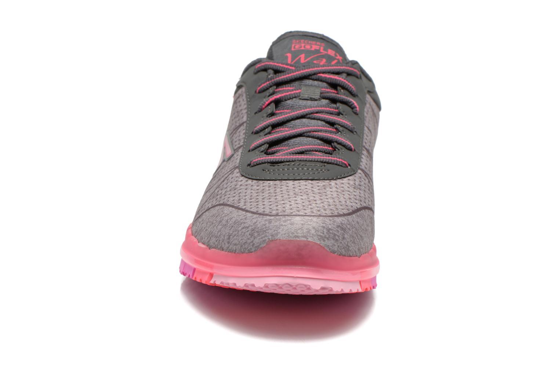 Sportschuhe Skechers Go Flex - Ability 14011 grau schuhe getragen