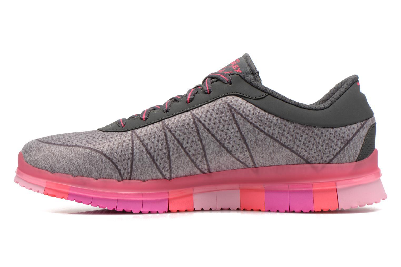Chaussures de sport Skechers Go Flex - Ability 14011 Gris vue face