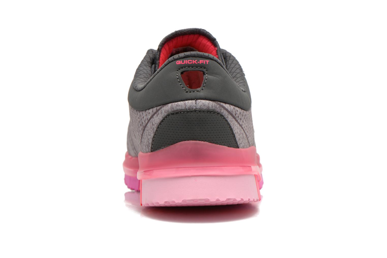 Sportschuhe Skechers Go Flex - Ability 14011 grau ansicht von rechts