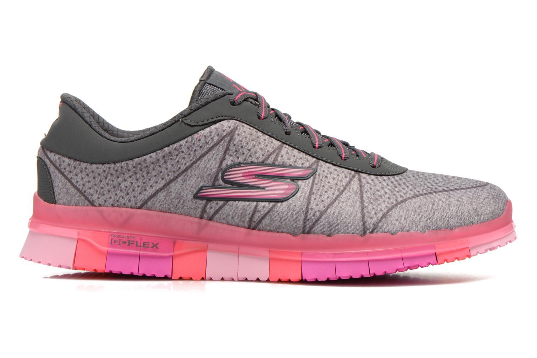 Chaussures de sport Skechers Go Flex - Ability 14011 Gris vue derrière
