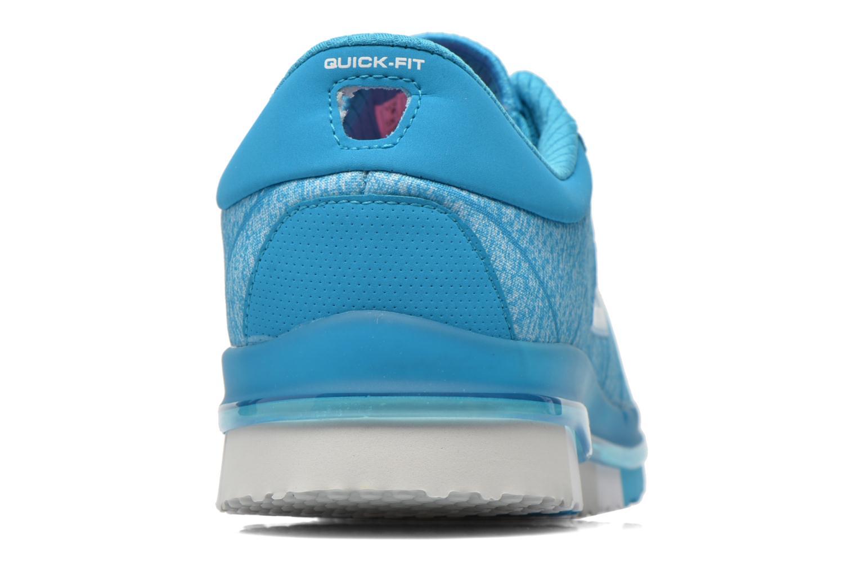 Scarpe sportive Skechers Go Flex - Ability 14011 Azzurro immagine destra