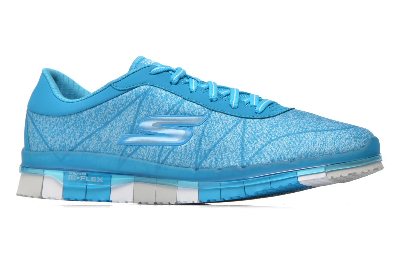 Scarpe sportive Skechers Go Flex - Ability 14011 Azzurro immagine posteriore