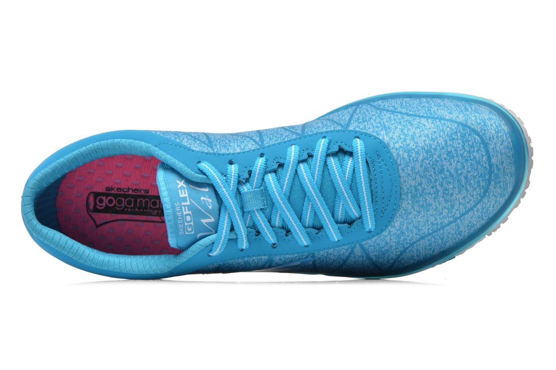 Scarpe sportive Skechers Go Flex - Ability 14011 Azzurro immagine sinistra