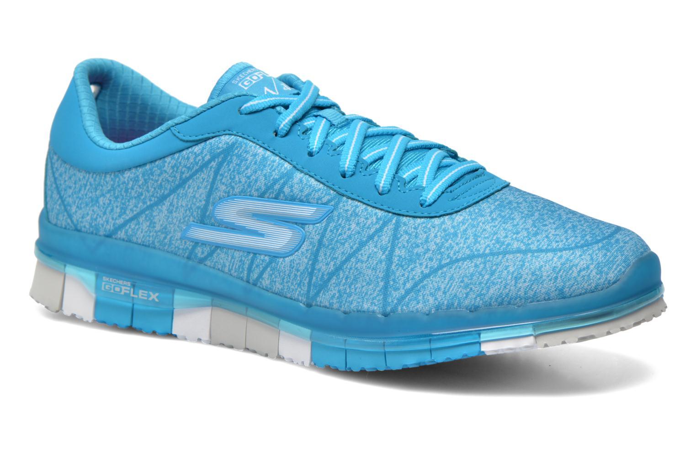 Chaussures de sport Skechers Go Flex - Ability 14011 Bleu vue détail/paire