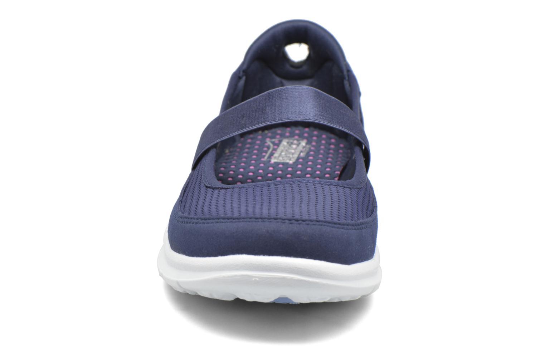 Ballerinas Skechers Go Step - Original 14213 blau schuhe getragen