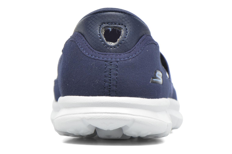 Ballerinas Skechers Go Step - Original 14213 blau ansicht von rechts