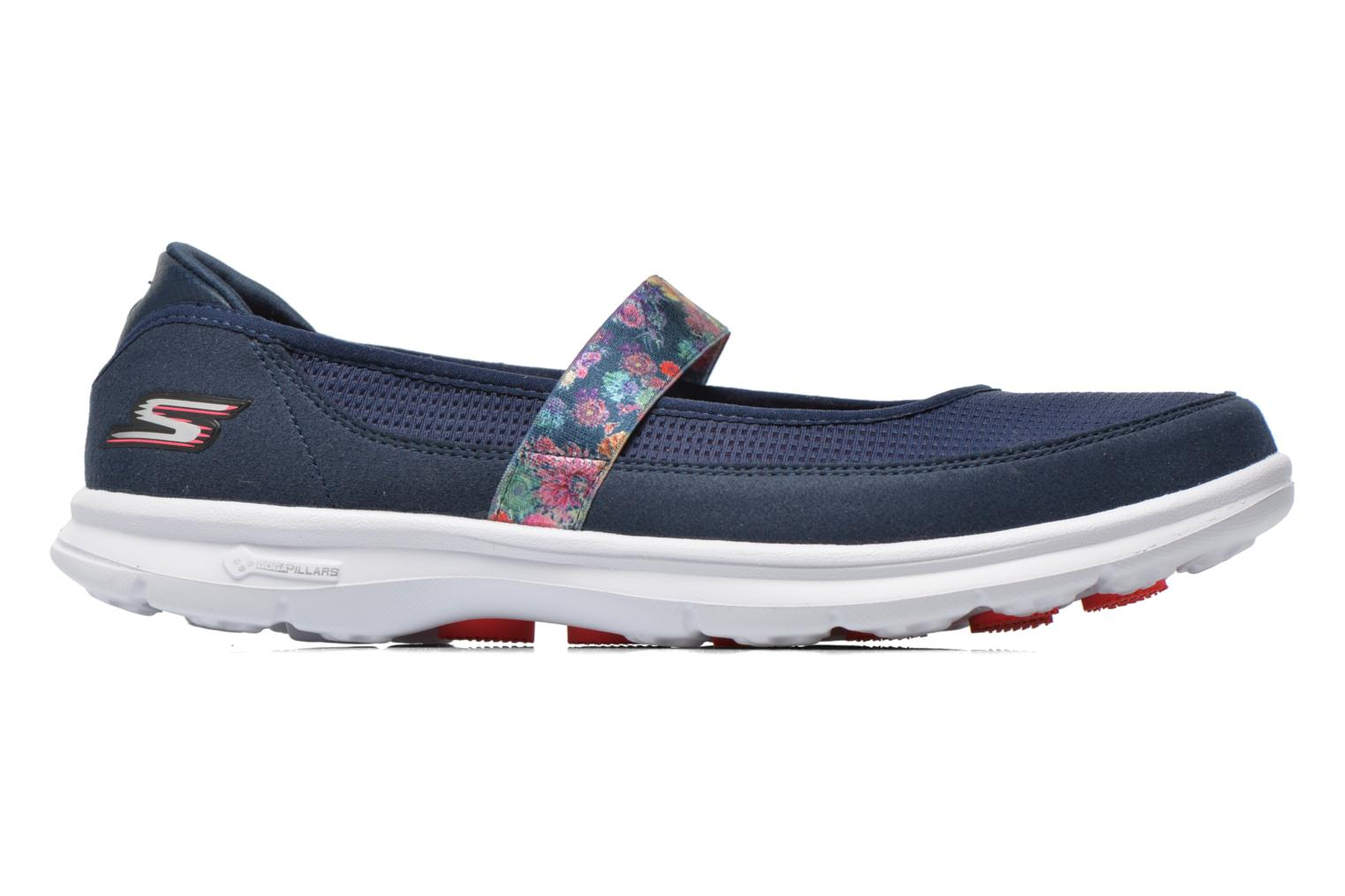 Go Step - Bloom 14214 Navy coral