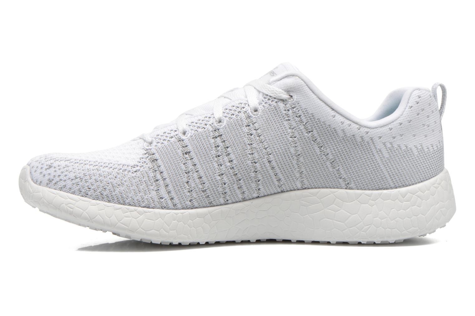 Sport shoes Skechers Burst - First Glimpse 12438 White front view