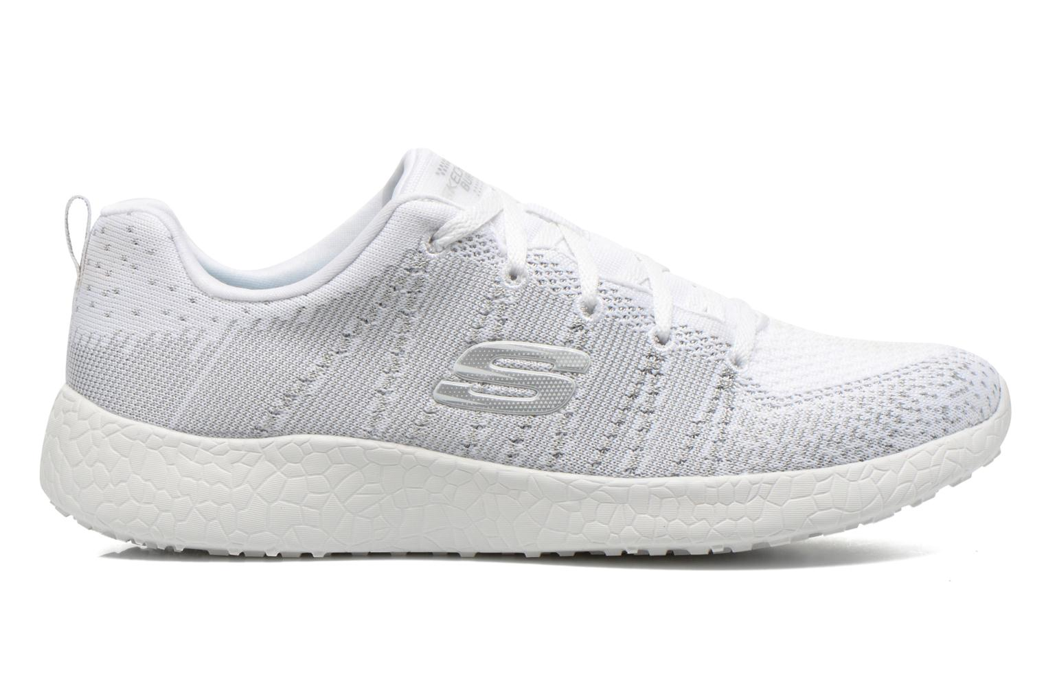 Sport shoes Skechers Burst - First Glimpse 12438 White back view
