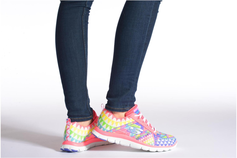 Zapatillas de deporte Skechers Flex Appeal - Arrowhead 12449 Multicolor vista de abajo