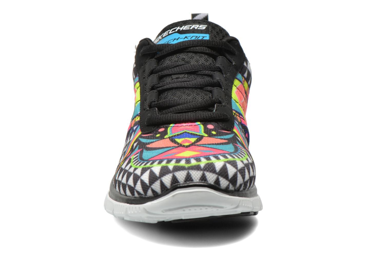 Scarpe sportive Skechers Flex Appeal - Arrowhead 12449 Multicolore modello indossato