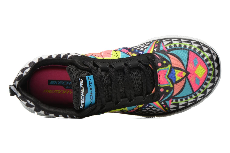 Zapatillas de deporte Skechers Flex Appeal - Arrowhead 12449 Multicolor vista lateral izquierda