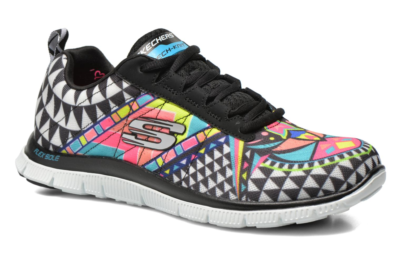 Zapatillas de deporte Skechers Flex Appeal - Arrowhead 12449 Multicolor vista de detalle / par