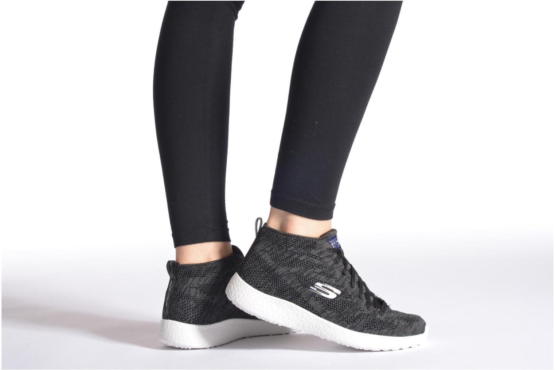 Chaussures de sport Skechers Burst- Divergent 12730 Noir vue bas / vue portée sac