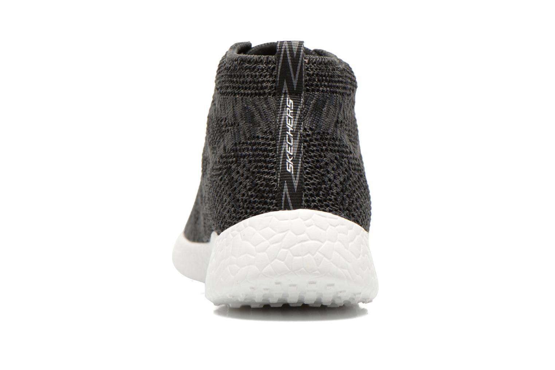 Zapatillas de deporte Skechers Burst- Divergent 12730 Negro vista lateral derecha