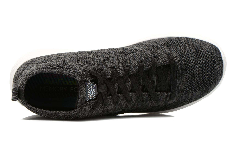 Zapatillas de deporte Skechers Burst- Divergent 12730 Negro vista lateral izquierda