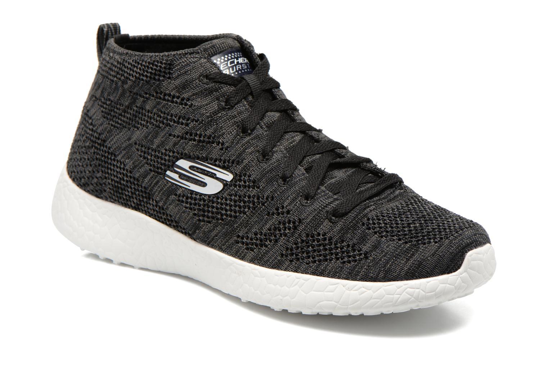 Zapatillas de deporte Skechers Burst- Divergent 12730 Negro vista de detalle / par