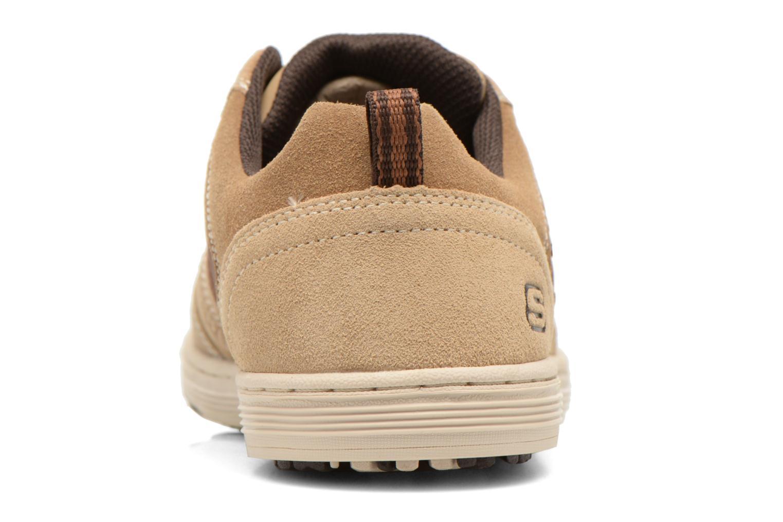 Sneaker Skechers Sorino- Evole 64633 beige ansicht von rechts