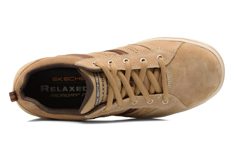 Sneaker Skechers Sorino- Evole 64633 beige ansicht von links