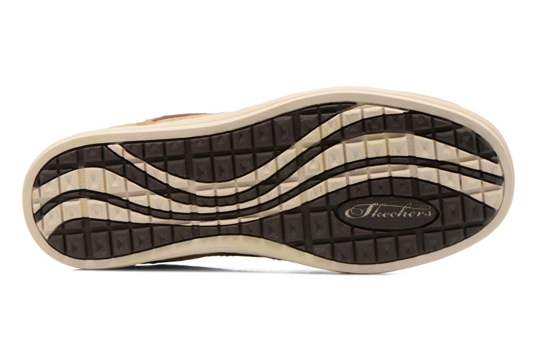 Sneaker Skechers Sorino- Evole 64633 beige ansicht von oben