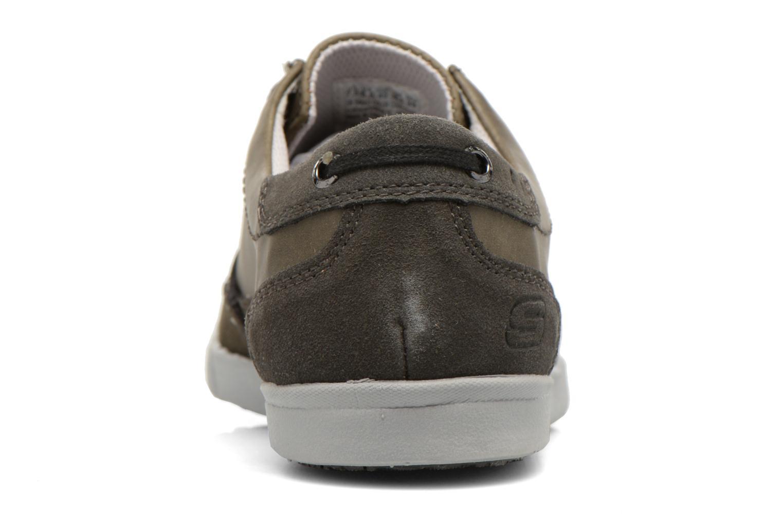 Chaussures à lacets Skechers Cardova 64663 Gris vue droite
