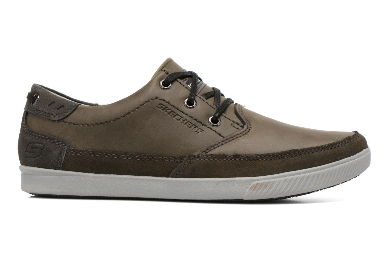 Chaussures à lacets Skechers Cardova 64663 Gris vue derrière