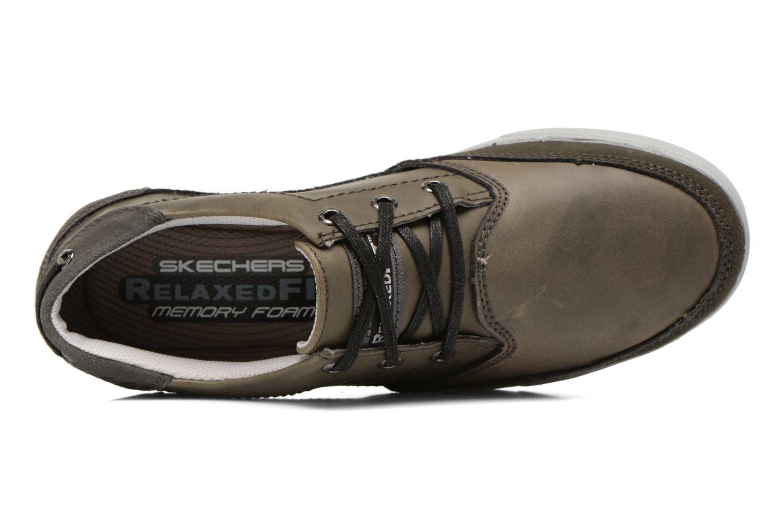 Chaussures à lacets Skechers Cardova 64663 Gris vue gauche