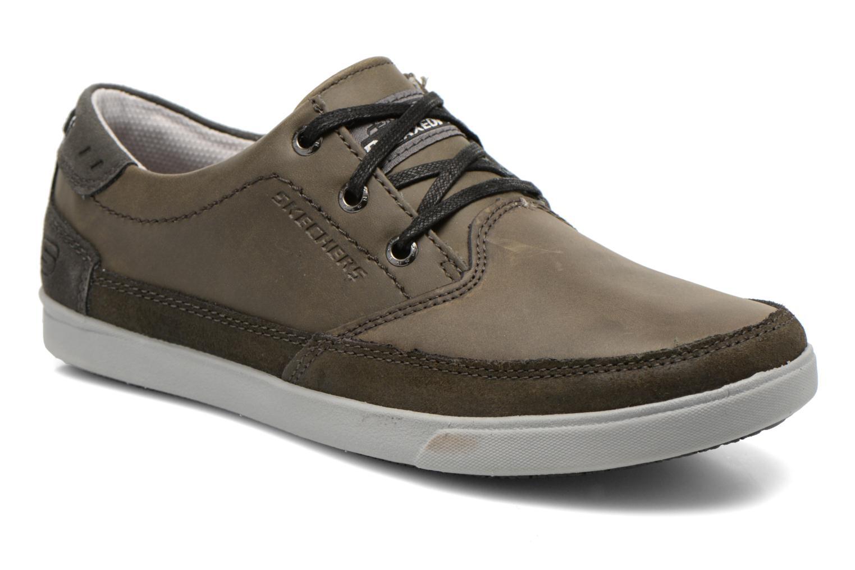 Chaussures à lacets Skechers Cardova 64663 Gris vue détail/paire