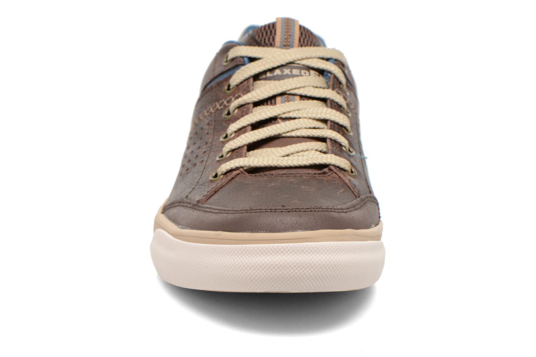 Sneakers Skechers Diamondback-Rendol 64666 Brun bild av skorna på