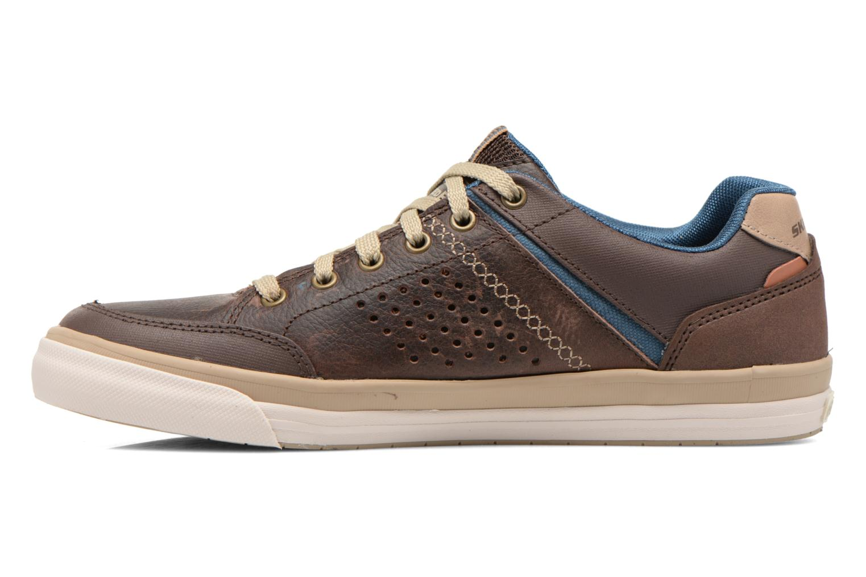 Sneakers Skechers Diamondback-Rendol 64666 Brun bild från framsidan