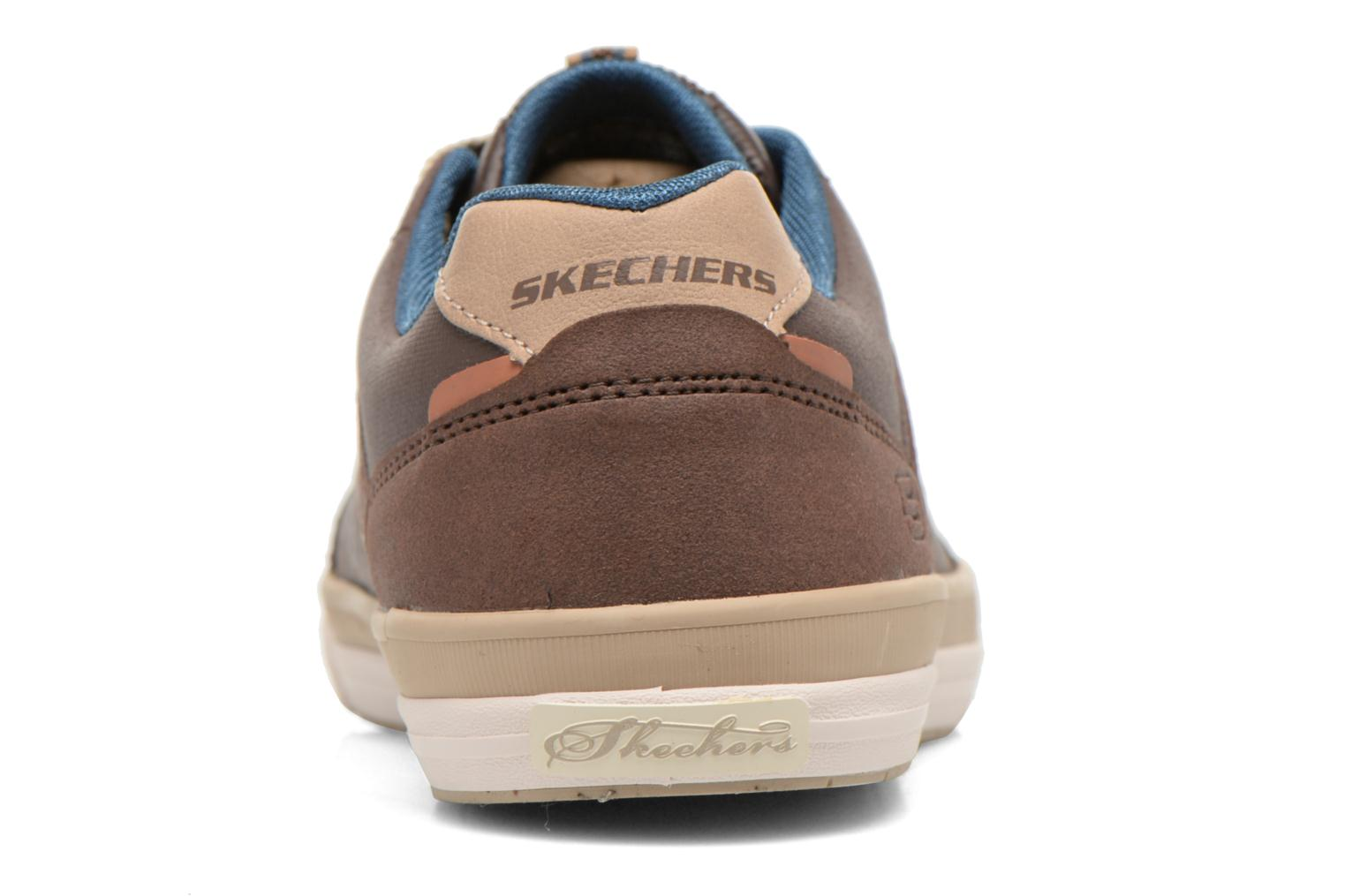 Trainers Skechers Diamondback-Rendol 64666 Brown view from the right
