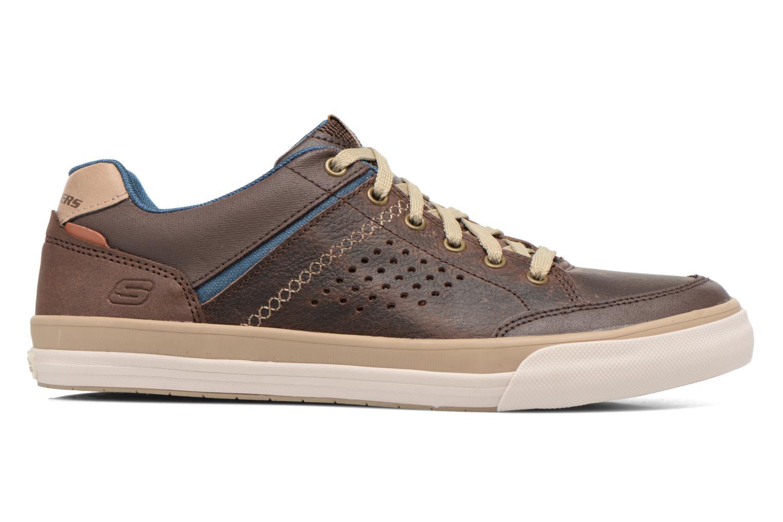 Sneakers Skechers Diamondback-Rendol 64666 Brun bild från baksidan