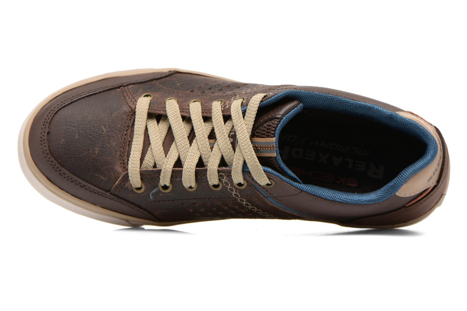 Trainers Skechers Diamondback-Rendol 64666 Brown view from the left