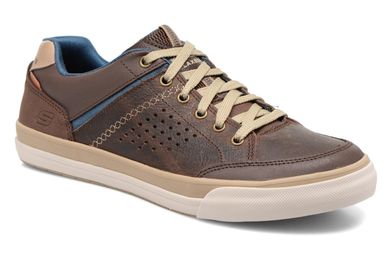 Sneakers Skechers Diamondback-Rendol 64666 Brun detaljerad bild på paret