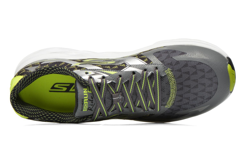 Scarpe sportive Skechers Go Run Ride 5 53997 Grigio immagine sinistra