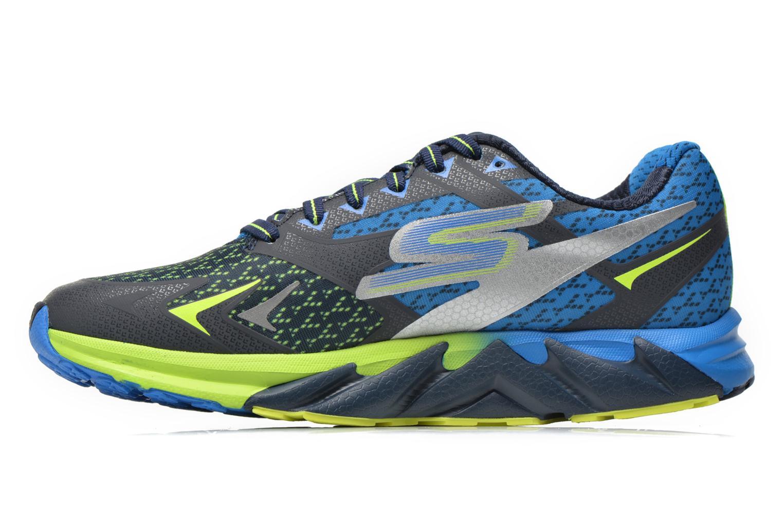 Chaussures de sport Skechers Go Run Forza 54105 Bleu vue face