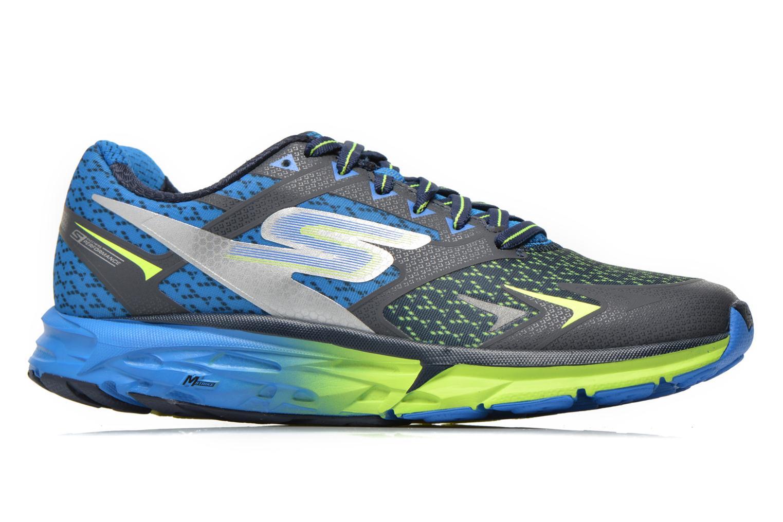 Chaussures de sport Skechers Go Run Forza 54105 Bleu vue derrière