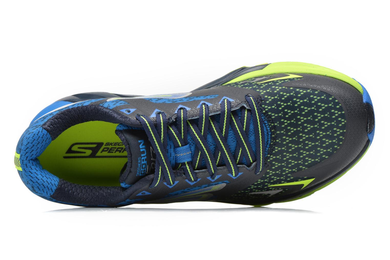 Chaussures de sport Skechers Go Run Forza 54105 Bleu vue gauche