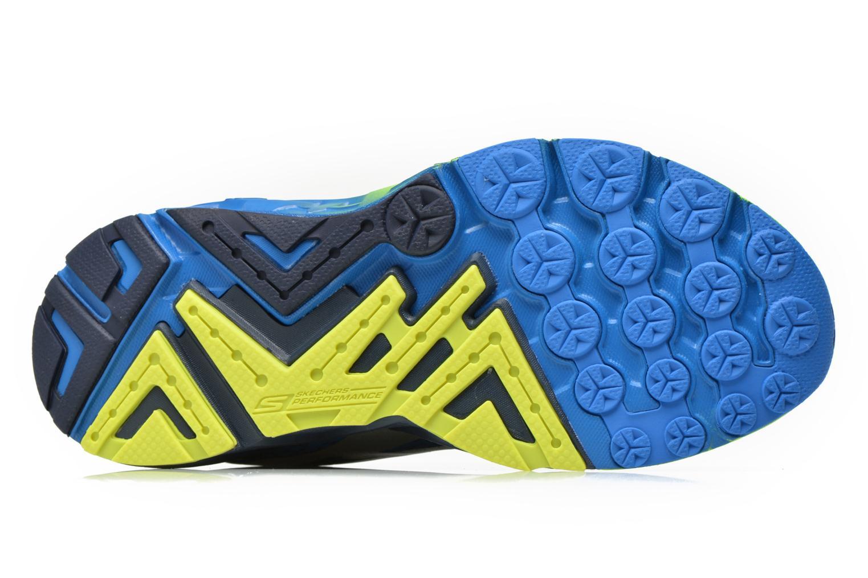 Chaussures de sport Skechers Go Run Forza 54105 Bleu vue haut