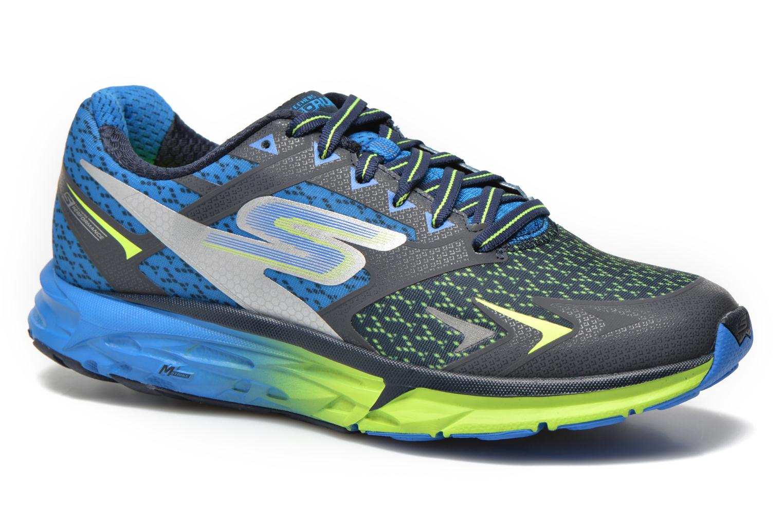Chaussures de sport Skechers Go Run Forza 54105 Bleu vue détail/paire