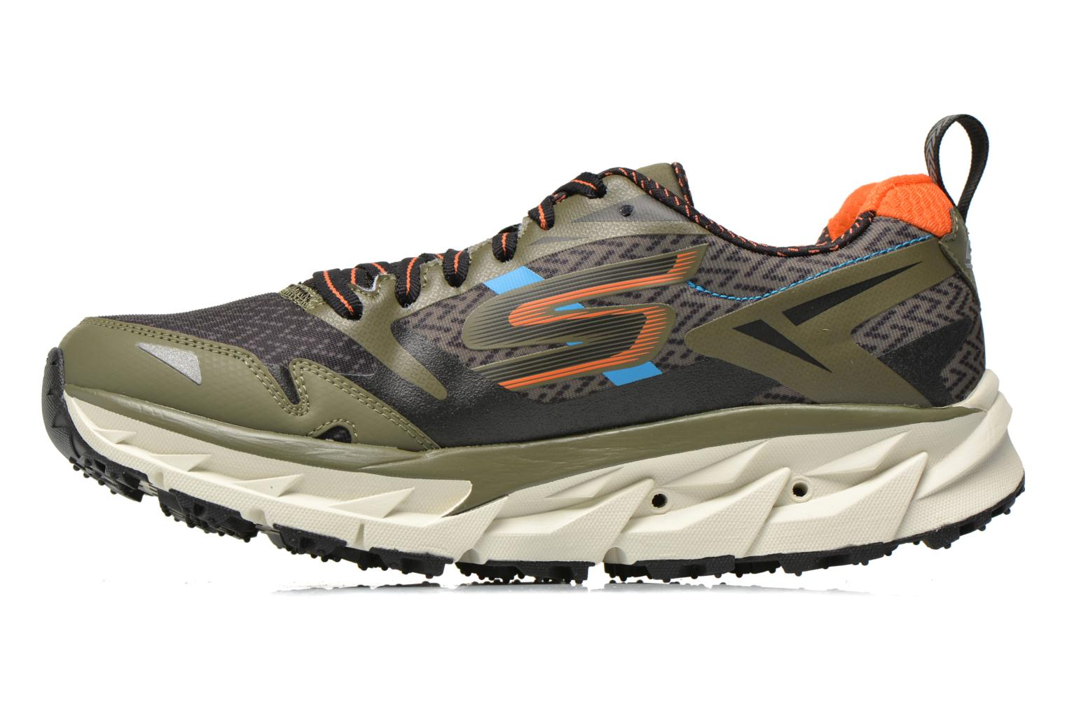 Sport shoes Skechers Go Trail Ultra 3 54110 Green front view