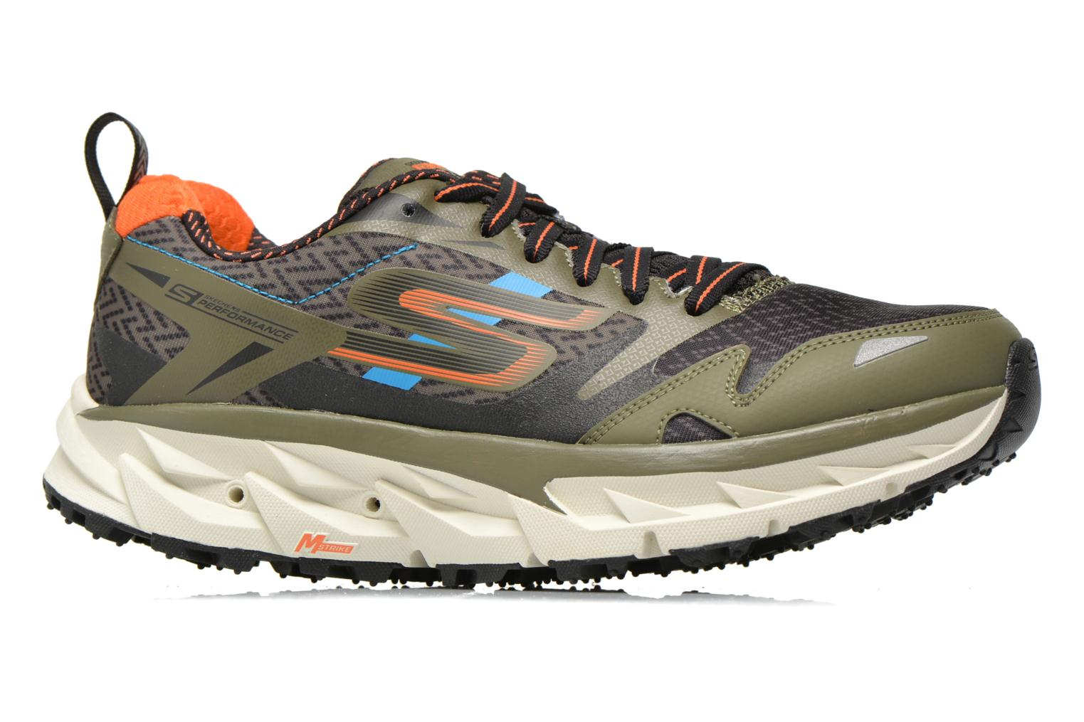 Sport shoes Skechers Go Trail Ultra 3 54110 Green back view