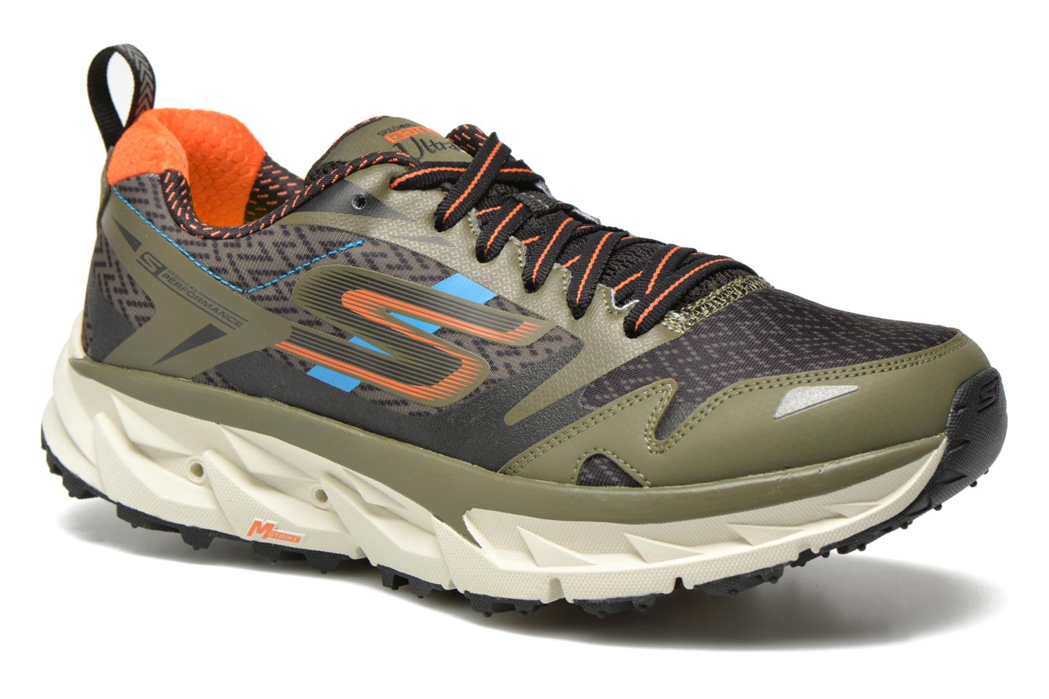 Sport shoes Skechers Go Trail Ultra 3 54110 Green detailed view/ Pair view