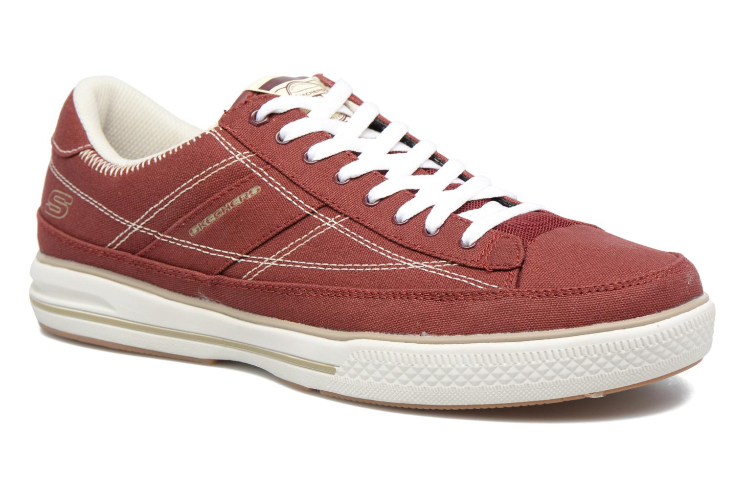 Baskets Skechers Arcade- Chat Mf 51014 Rouge vue détail/paire
